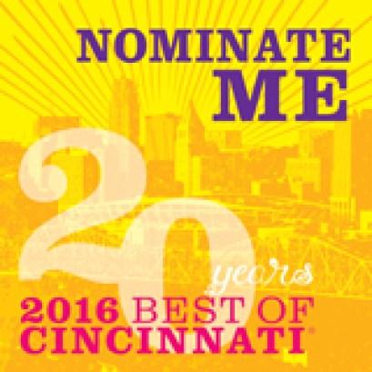 Best of Cincinnati Nominate Me