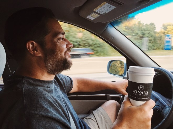 A cup for the road.