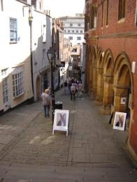 Steep Medieval Street