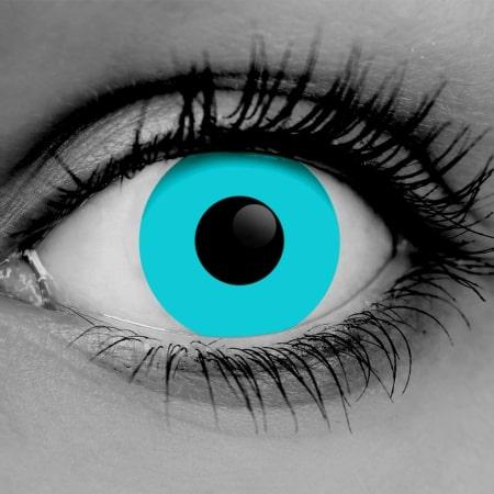 Zombie Blue Contact Lenses
