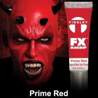 prime red paint makeup