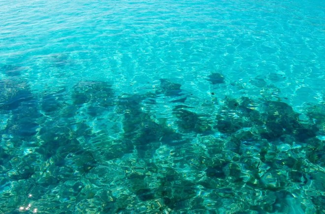 The water in October was a beautiful clear turquoise and the temperature was just right.
