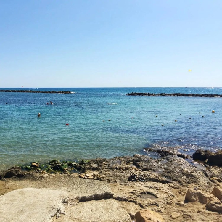 Paphos is pretty in pictures, but too rocky for a really nice swim.
