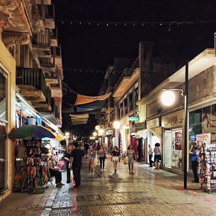 Ledra Street at Night