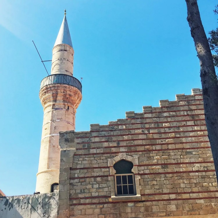 The minaret of Kebir Mosque