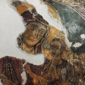 Frescos in Panagia Moutoullas