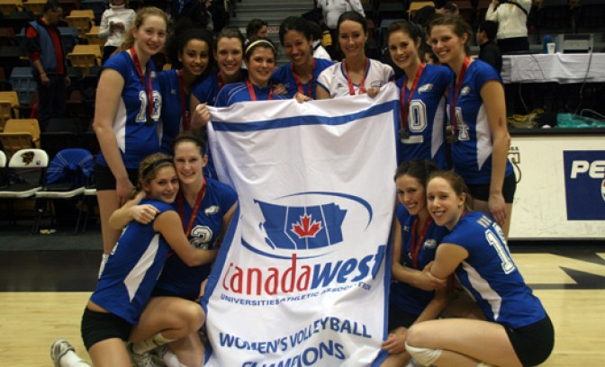 Perfect season continues as 'Birds claim Canada West crown