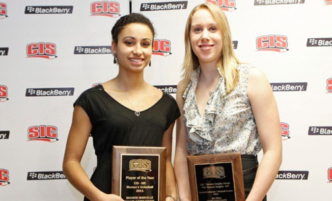 Marcelle named CIS MVP, Hinze top student-athlete