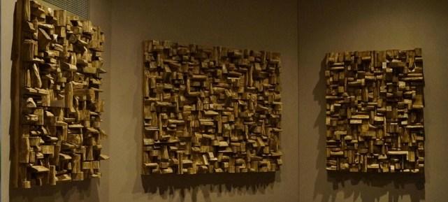 Hình ảnh thi công gỗ tán âm