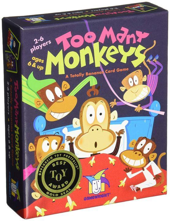 Juego De Atención: Too Many Monkeys