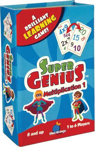 Juego de Mesa Blue Orange: Super genius (multiplication 1)