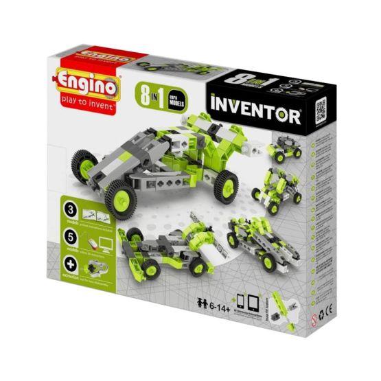 Juego De Construcción Inventor 8 In 1: Cars Models