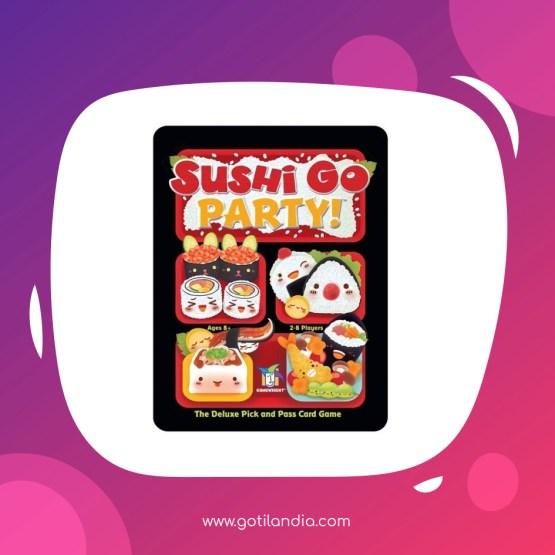 Juego De Estrategia: Sushi Go Party!