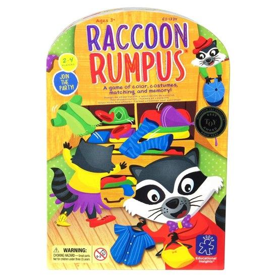 Juego Didáctico Educational Insights: Raccoon Rumpus