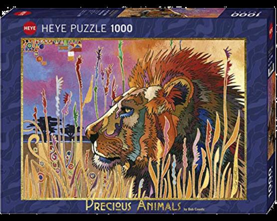 Rompecabezas 1000 piezas Heye: Animales majestuosos: Toma un descanso 29899