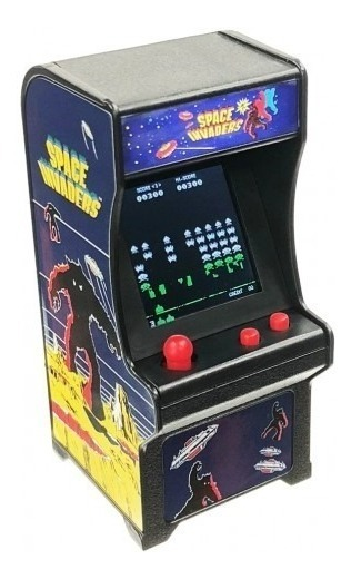 COL-378TINY ARCADE SPACE INVADERS