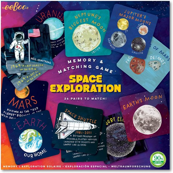 Memoria Eeboo: Exploración Espacial