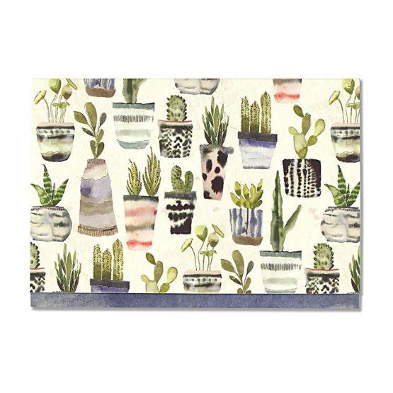 Tarjetas Peter Pauper Press Con Sobre Watercolor Succulents