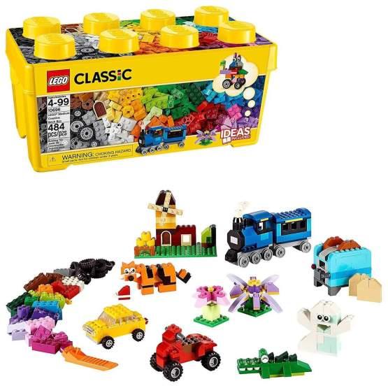 LEGO CLASSIC CAJA DE BRICKS CREATIVOS MEDIANA 10696