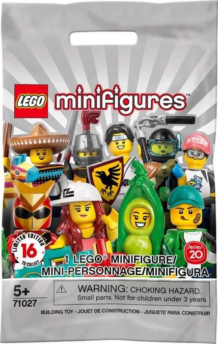 LEGO Minifiguras Edicion 20 71027