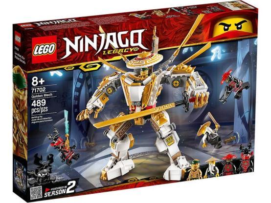 LEGO NINJAGO ROBOT DORADO 71702