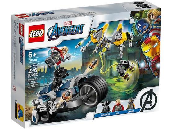 LEGO MARVEL SÚPER HÉROES VENGADORES: ATAQUE EN MOTO 76142