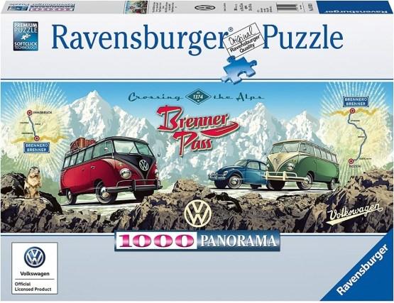 Rompecabezas 1000 Piezas Ravensburger, Cruzando Los Alpes Con VW