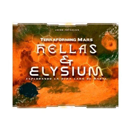 Terraforming Mars – Mars Hellas Elysium Expansion – ENGLISH (Sobre pedido)
