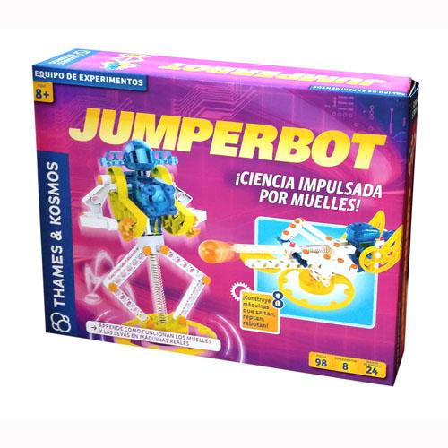 Jumperbot Ciencia impulsada por Muelles (sobre pedido)