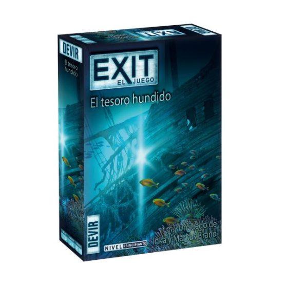 EXIT 7 – El Tesoro Hundido – Nivel: Principiante (Sobre pedido)