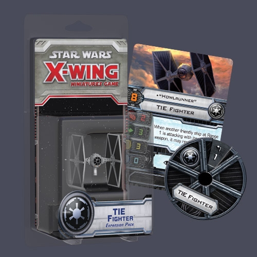 Star Wars X-Wing: TIE Fighter Expansion Pack (SWX03) sobre pedido