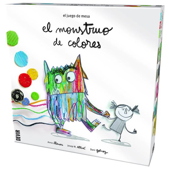 Monstruo de Colores. ESPAÑOL