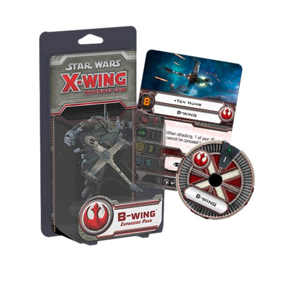 Star Wars: X-Wing – B-Wing Expansion Pack (SWX14)   (Sobre pedido)