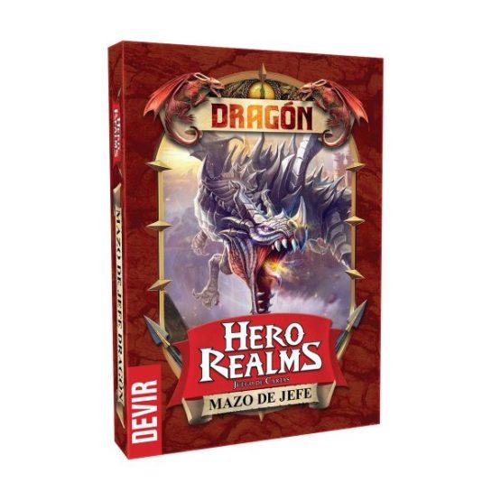 Hero Realms Expansión: Jefe Dragón ESPAÑOL(SOBRE PEDIDO)