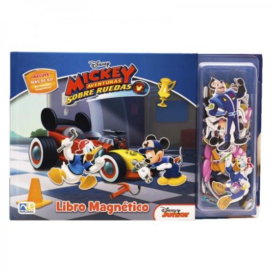 LIBRO MAGNETICO MICKEY Y SUS AMIGOS