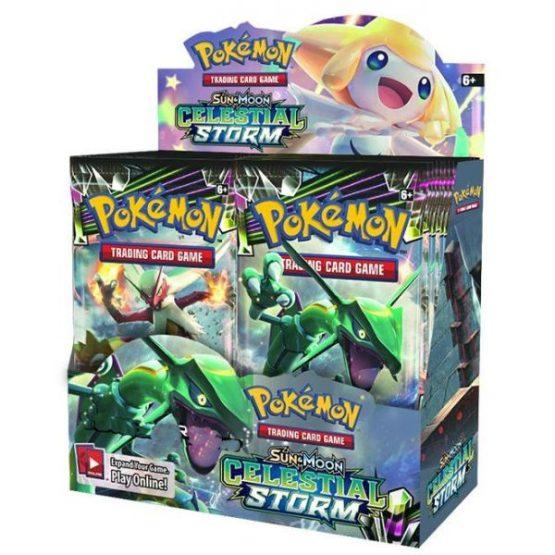 Pokémon TCG: Sun & Moon—Celestial Storm Booster Display (SOBRE PEDIDO )