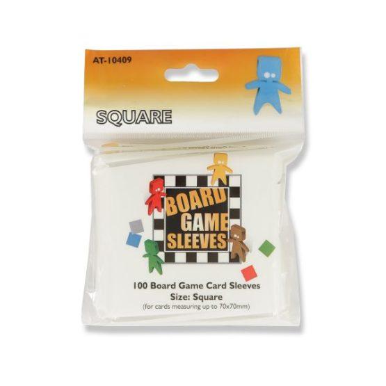 Arcane Tinmen: Square board game sleeves 100ct. (69 x 69 mm)(SOBRE PEDIDO)