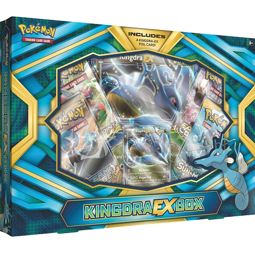 Pokémon TCG: Kingdra-EX Box ( SOBRE PEDIDO)