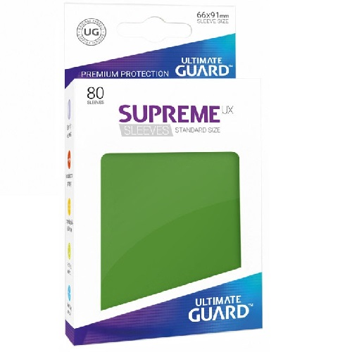 Ultimate Guard Supreme UXSLVS STD Green (80) * SOBRE PEDIDO*