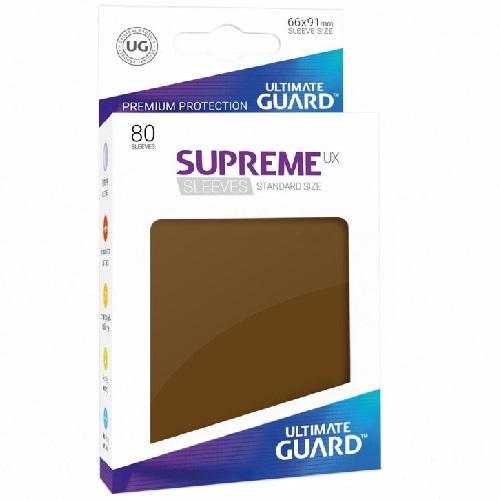 Ultimate Guard Supreme UXSLVS STD Brown (80) (UGD010547CN) * SOBRE PEDIDO*
