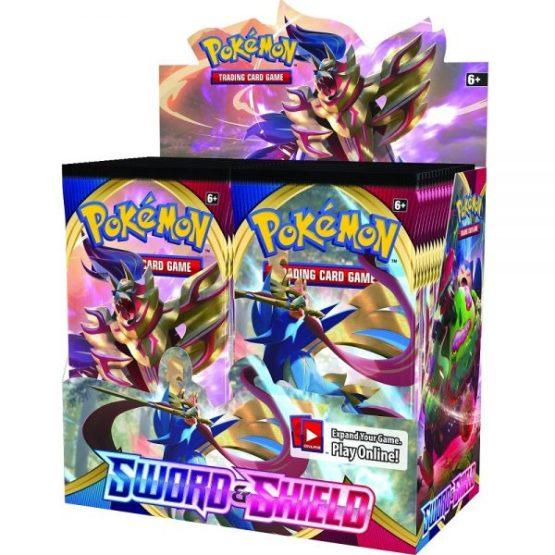 Pokémon TCG: Sword & Shield 1 Booster DISPLAY INGLES (SOBRE PEDIDO)