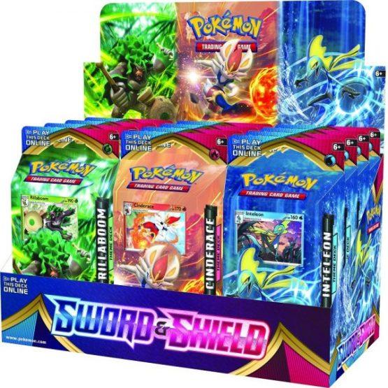 Pokémon TCG: Sword & Shield 1 Theme Decks DISPLAY INGLES (SOBRE PEDIDO)