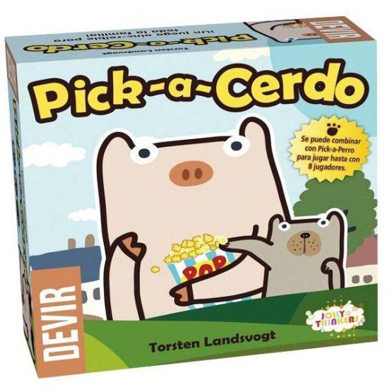 Pick-A-Cerdo ESPAÑOL (SOBRE PEDIDO)