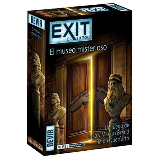 EXIT 10 – El Museo Misterioso – Nivel: Principiante (SOBRE PEDIDO)