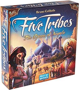 Five Tribes (English) (SOBRE PEDIDO)