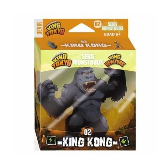 King of Tokyo/New York expansión: King Kong – INGLÉS (SOBRE PEDIDO)