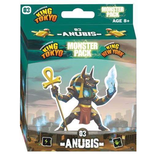 King of Tokyo/New York expansión: Anubis – INGLÉS (SOBRE PEDIDO)