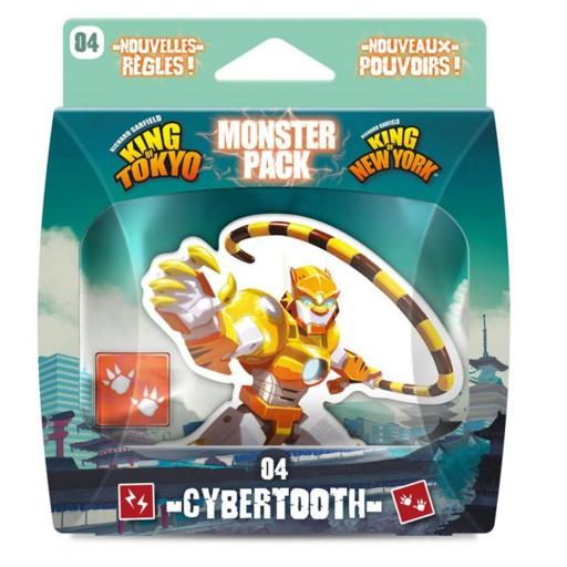 King of Tokyo/New York expansión: Cybertooth – INGLÉS (SO