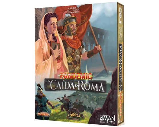 JUEGO DE TABLERO MARCA ASMODEE: PANDEMIC: CAÍDA DE ROMA (SOBRE PEDIDO)
