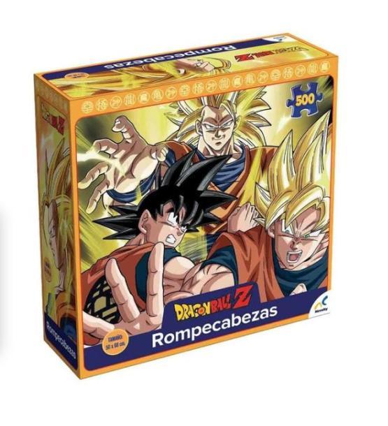 ROMPECABEZAS COLECCIONABLE DRAGON BALL 500 PZAS